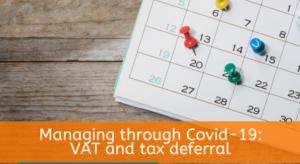 Pay VAT Deferred Due to Coronavirus (COVID-19)